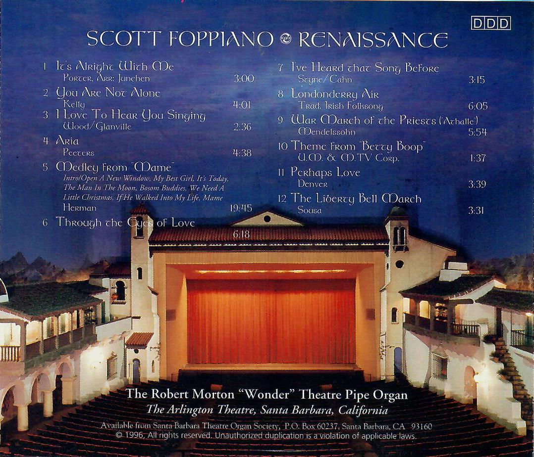 Scott Foppiano - Renaissance