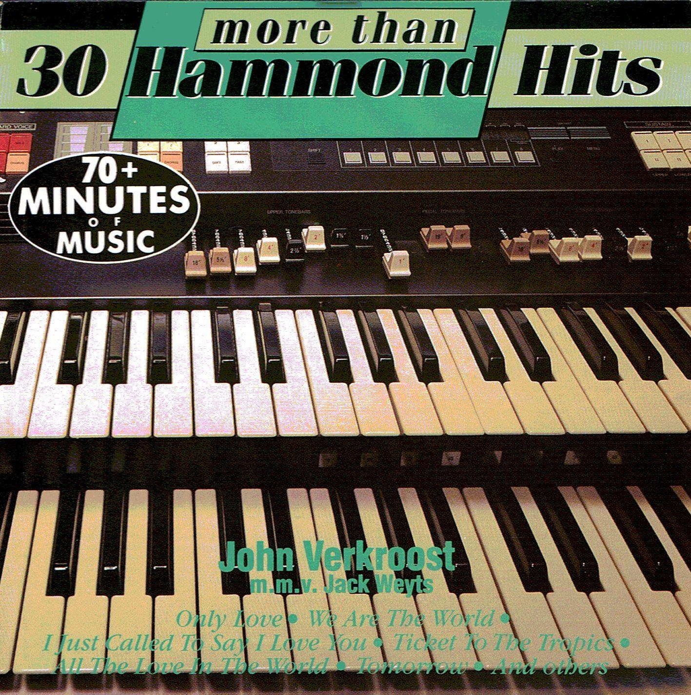 John Verkroost - More than 30 Hammond Hits