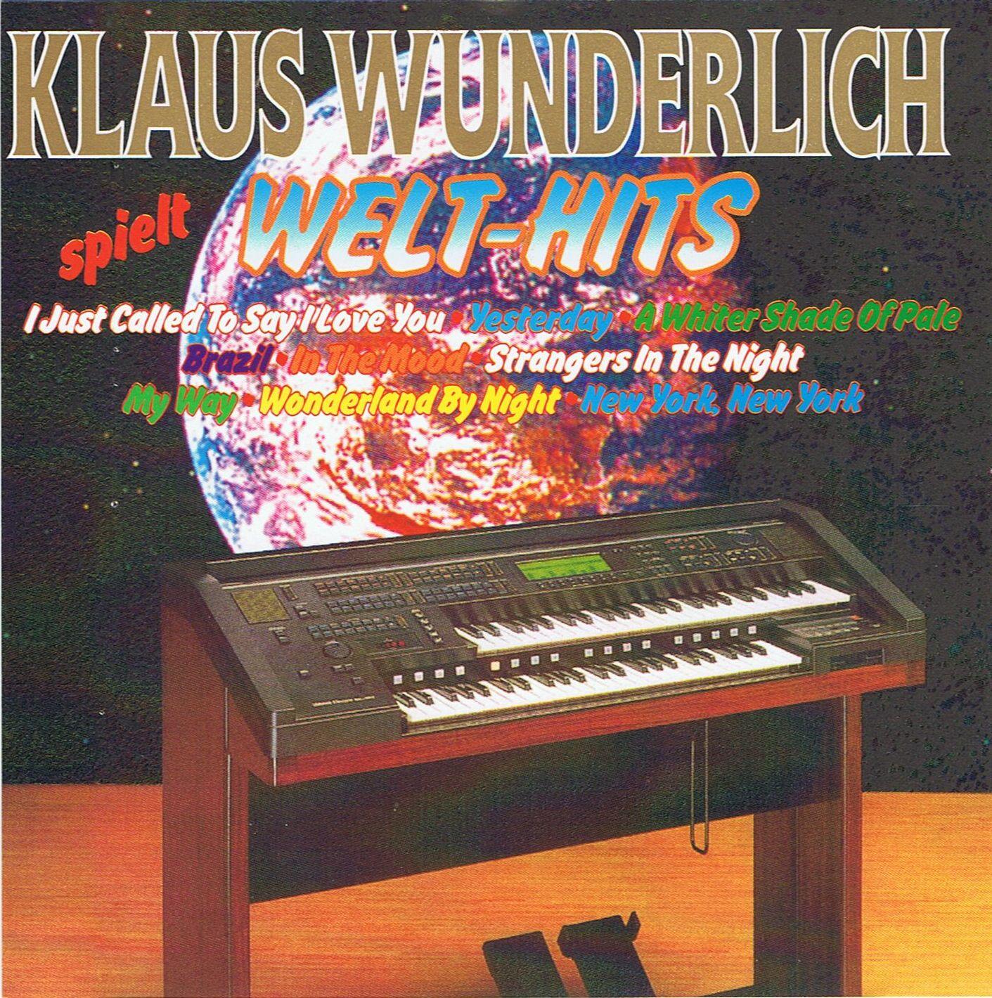 Klaus Wunderlich - Klaus Wunderlich spielt Welt-Hits