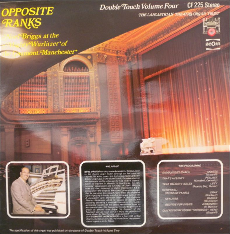 Noel Briggs / Eric Lord - Opposite Ranks