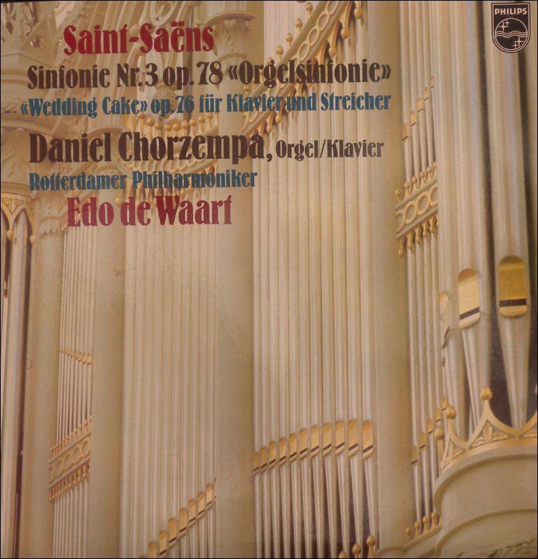 Daniel Chorzempa - Saint Saens Sinfonie Nr.3 op. 78