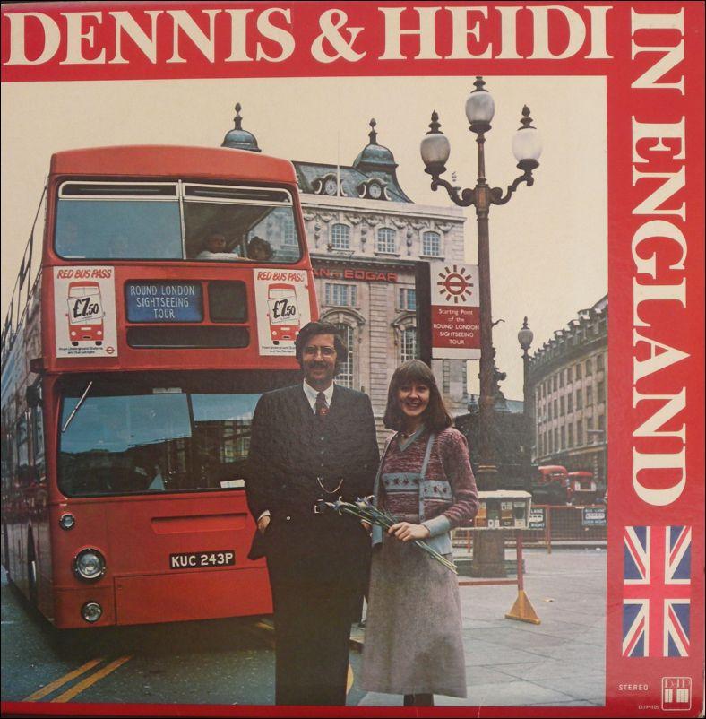 ** Dennis en Heidi - Dennis en Heidi in Engeland